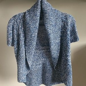 Express Knit Short Sleeve Cardigan